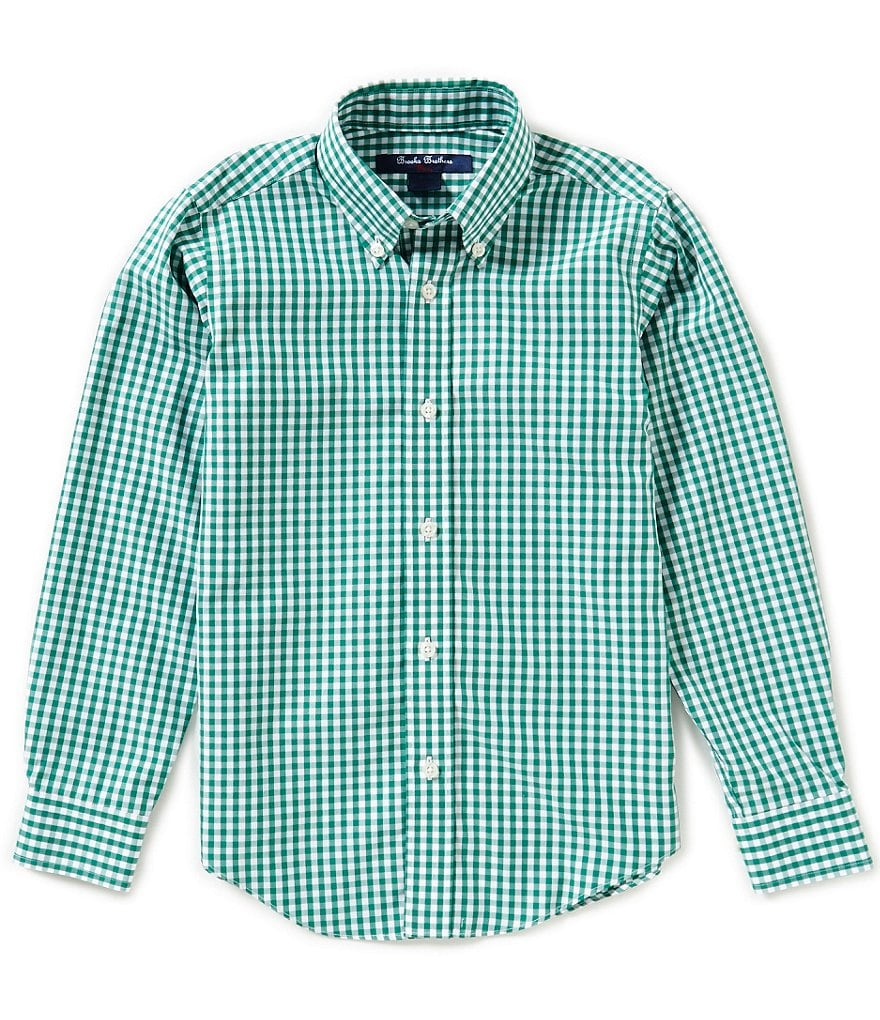 Brooks Brothers Little/Big Boys 4-20 Non Iron Gingham Woven Shirt