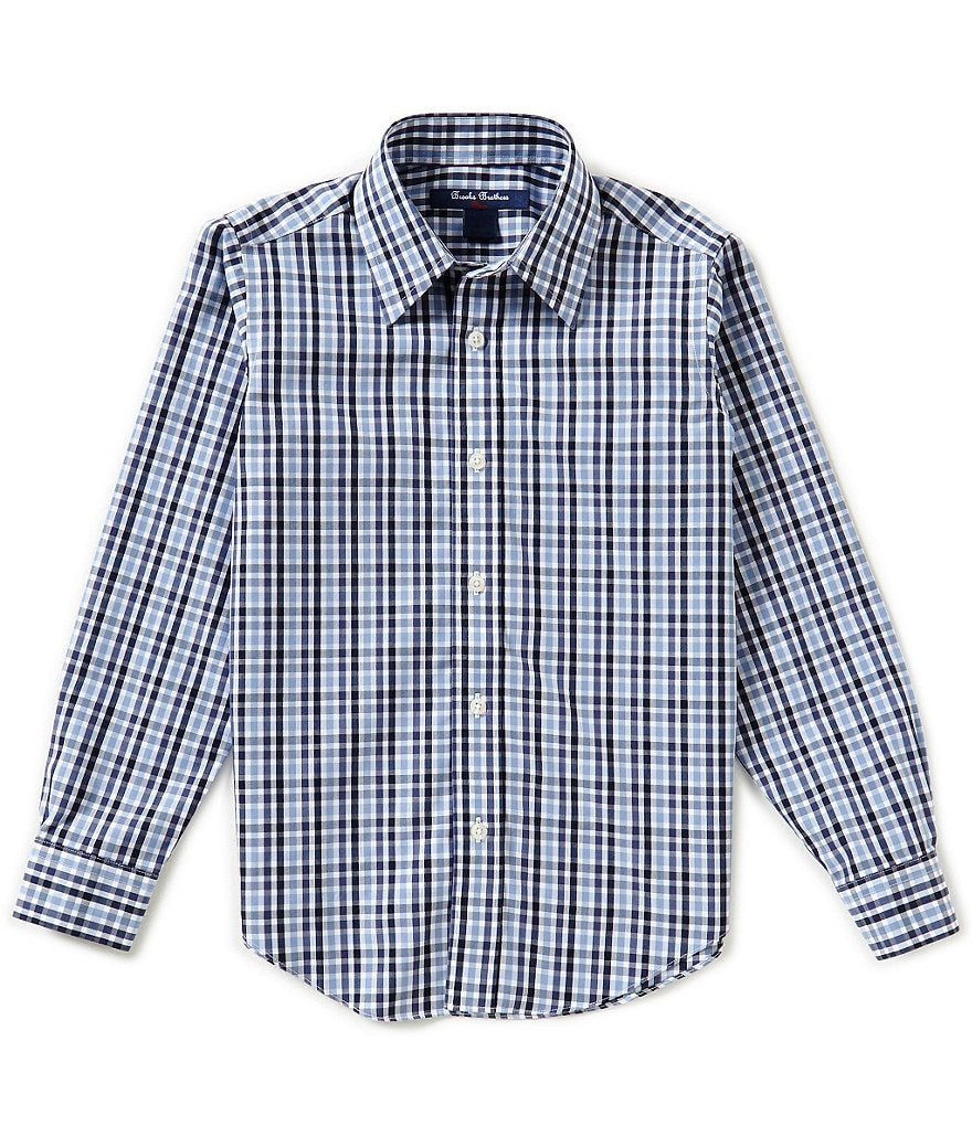 Brooks Brothers Little/Big Boys 4-20 Multi-Checked Non-Iron Woven Shirt