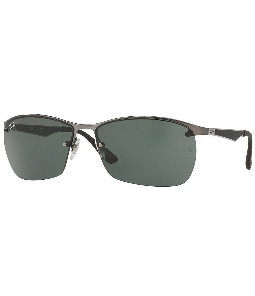 Ray-Ban Techlite Metal Rectangle Sunglasses