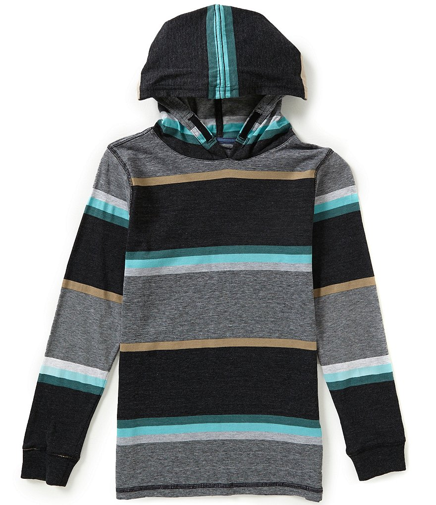 First Wave Big Boys 8-20 Striped Hoodie
