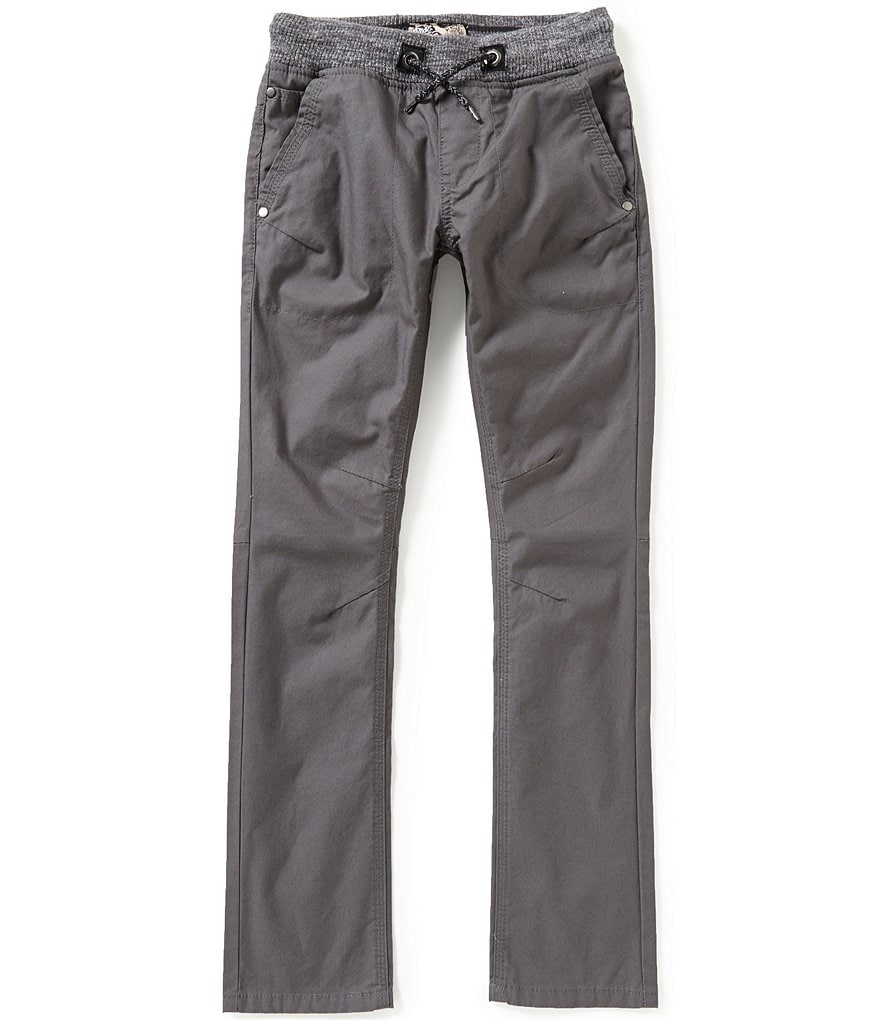 First Wave Little Boys 2T-7 Pull-On Pants