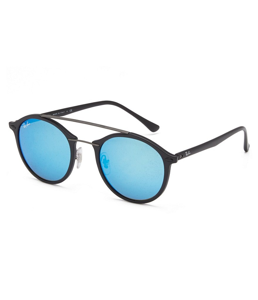 Ray-Ban Techlite Gatsby Mirrored Round Sunglasses