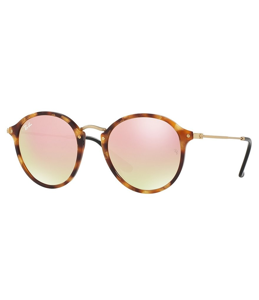 Ray-Ban Folding Clubround Flash Gradient Sunglasses