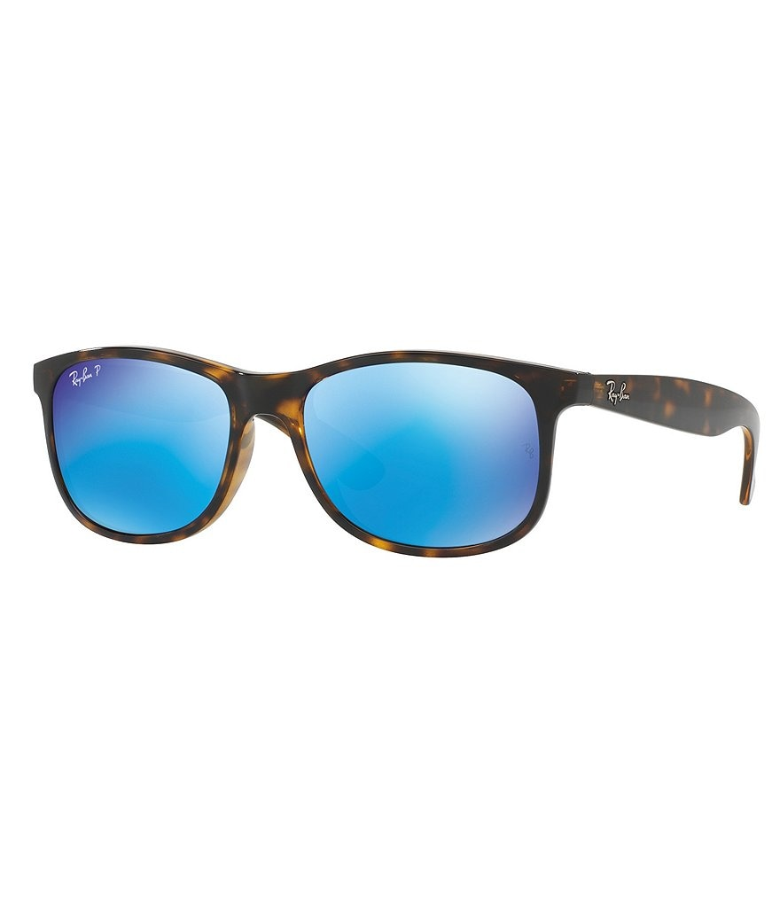 Ray-Ban Andy Rectangle Flash/Mirror Sunglasses
