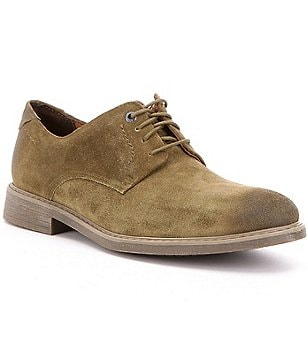 Rockport Men´s Tailoring Guide Suede Lace-Up Plain Toe Oxfords