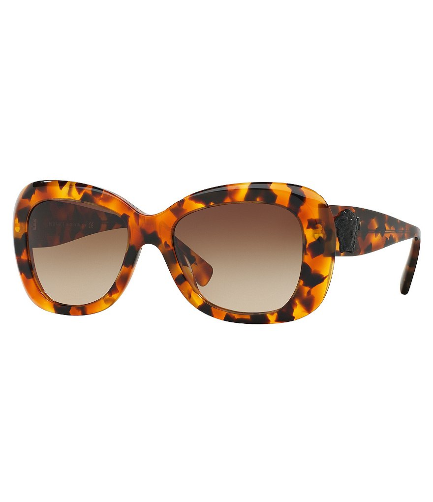 Versace Pop Chic Medusa Square Gradient Sunglasses