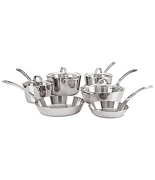 Viking Contemporary 3-Ply Mirror-Finished 10-Piece Cookware Set