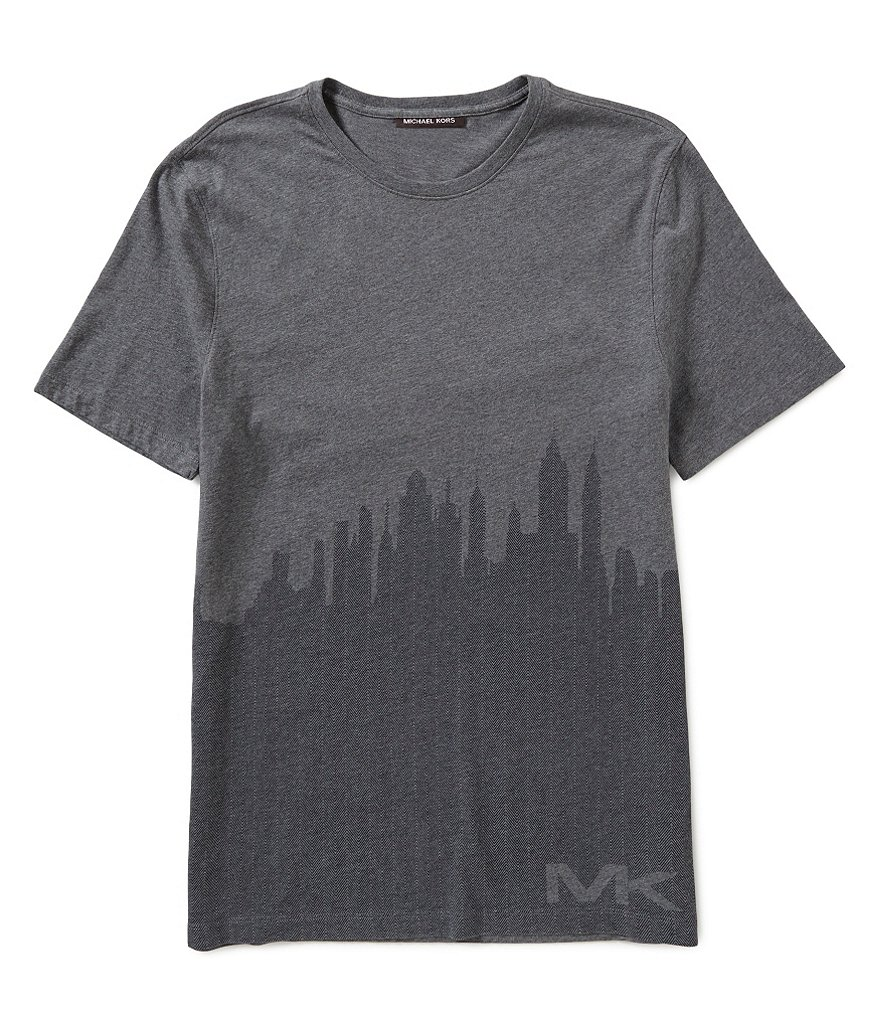 Michael Kors Skyview Graphic Short-Sleeve Tee
