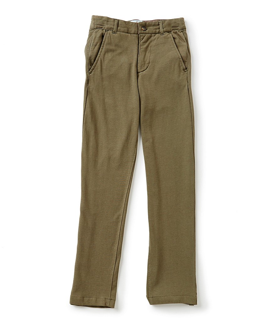 Class Club Big Boys 8-20 Flat-Front Pants