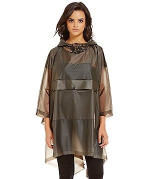 Hunter Original Clear Oversized Rain Poncho