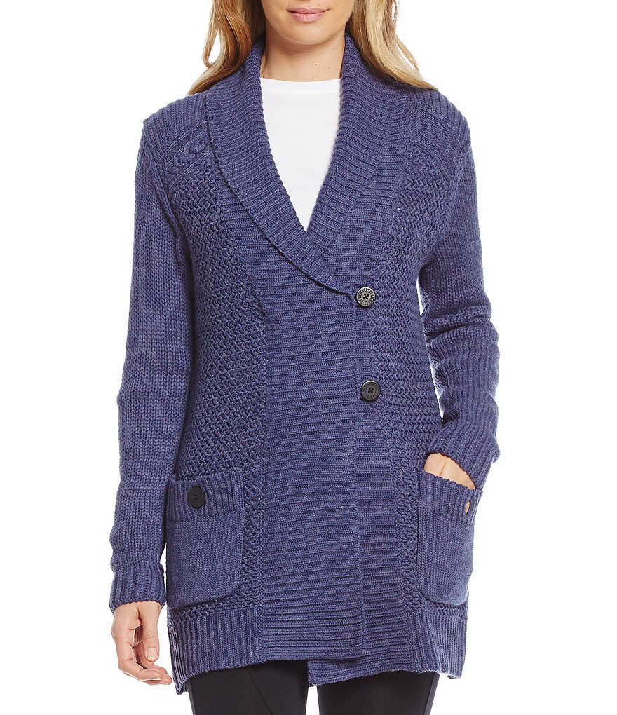 UGG® Lillie Fisherman Cardigan Knit Sweater
