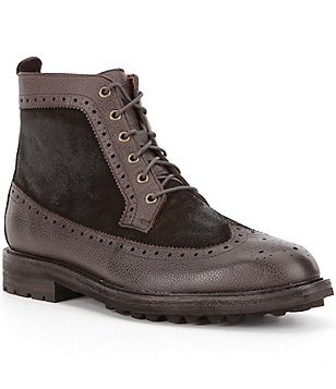 Polo Ralph Lauren Men´s Nickson Leather & Suede Lace-Up Boots
