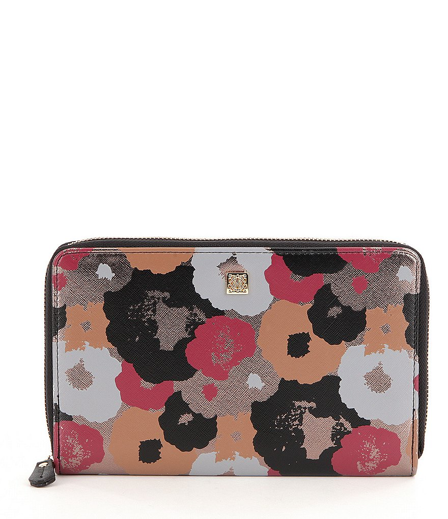 Kate Landry Cabana Floral Travel Wallet