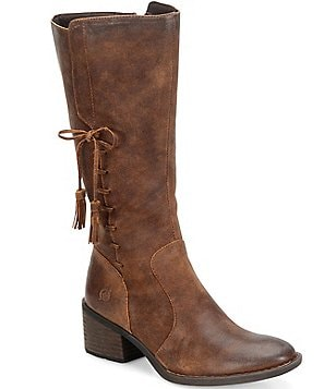 Born Beckett Block Heel Boots
