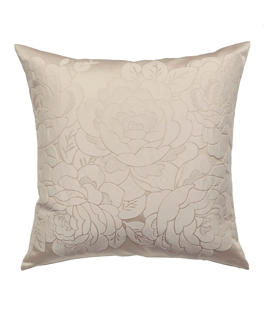 The Art of Home from Ann Gish Cloud Floral-Textured Euro Sham
