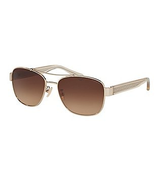 COACH SIGNATURE GLOW GRADIENT NAVIGATOR SUNGLASSES