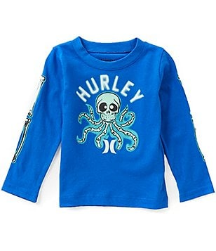 Hurley Baby Boys 12-24 Months Octo Shock Long-Sleeve Tee