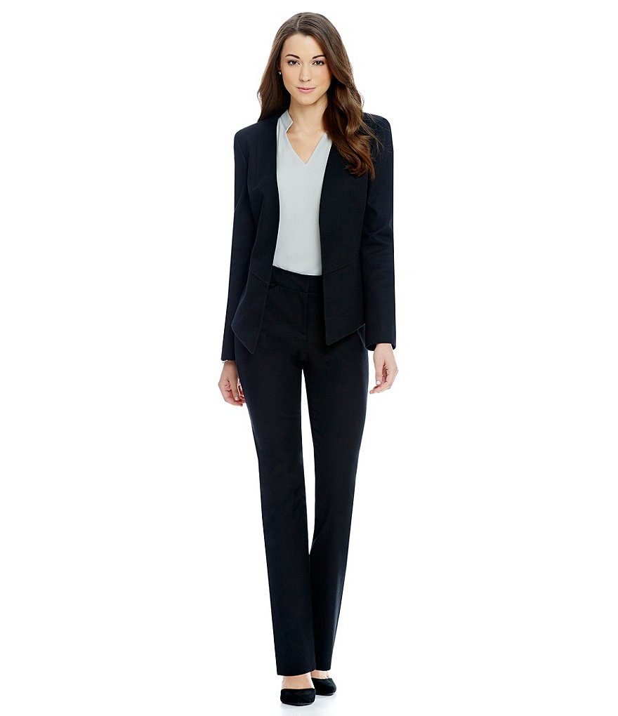 Antonio Melani Geena Cotton Pique Jacket, Pencil Skirt & Cropped Pique Pant