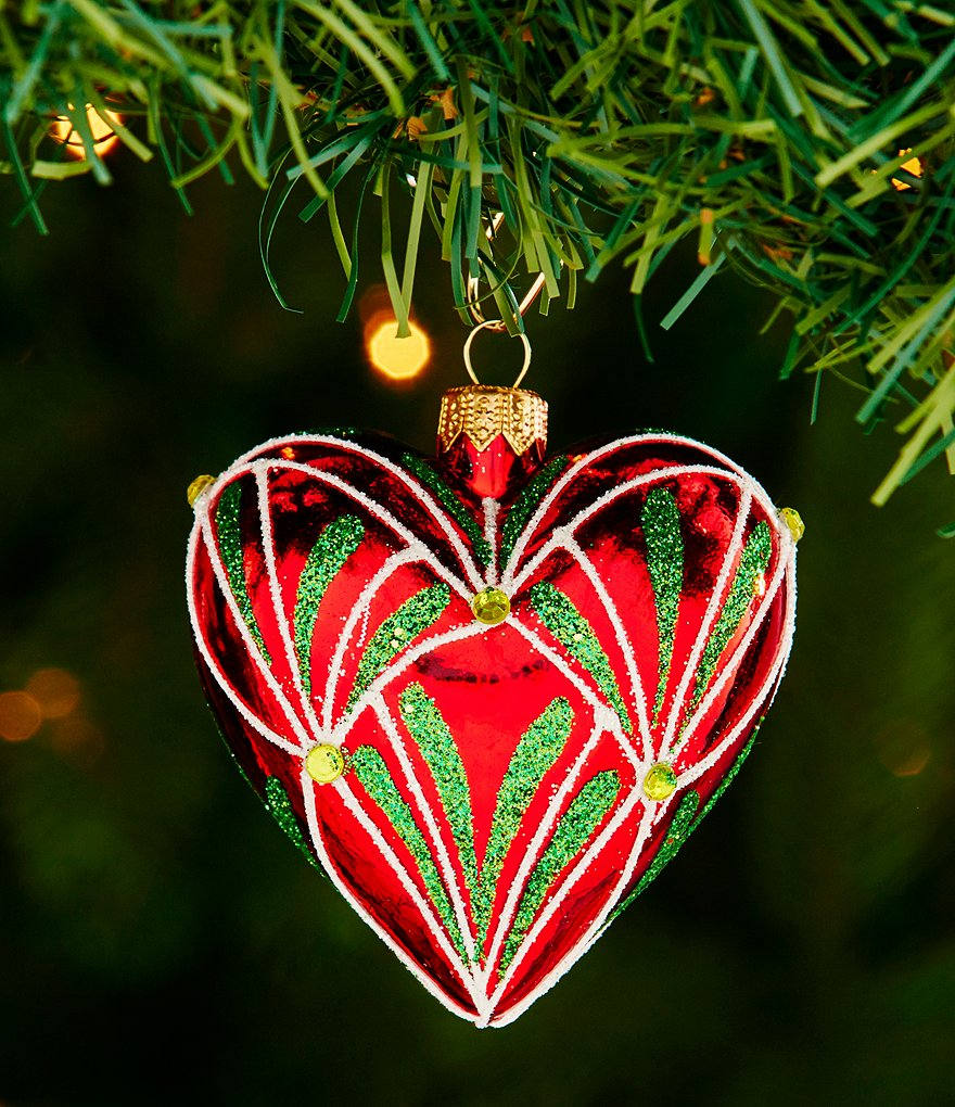 Waterford 2016 Nostalgic Collection Holiday Heirloom Christmas Eve Heart Ornament