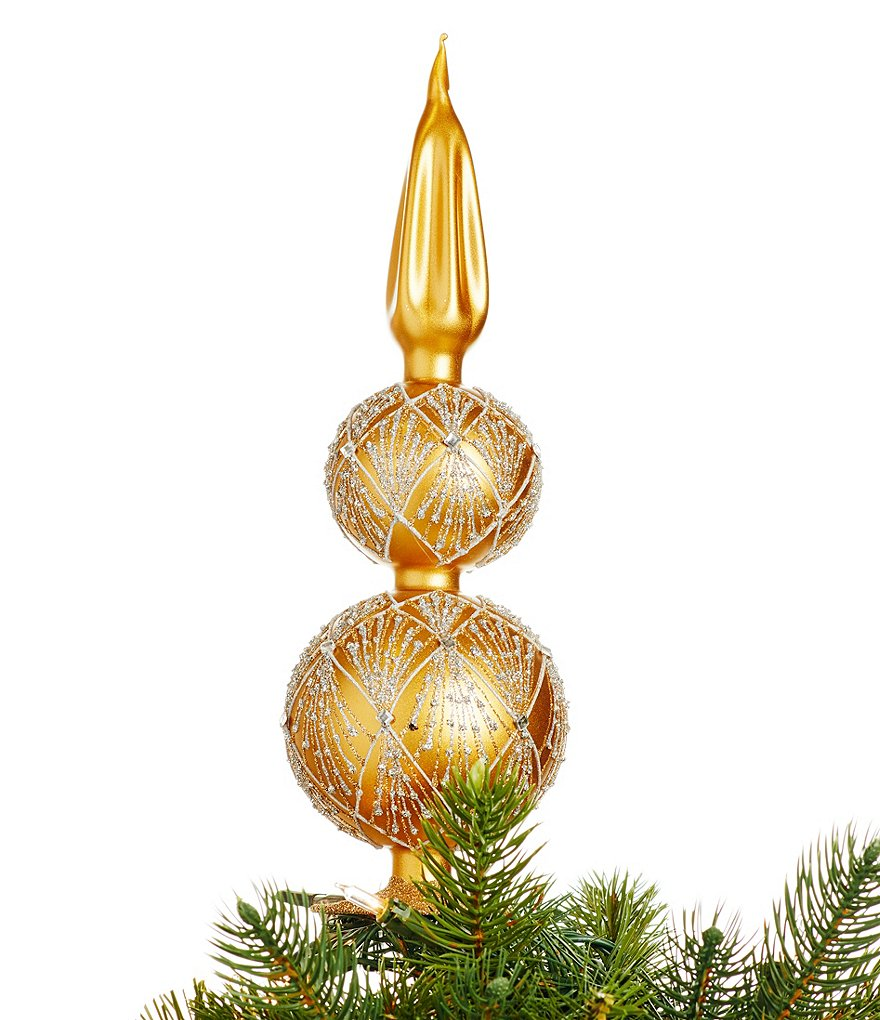 Waterford 2016 Nostalgic Collection Holiday Heirlooms Tinsel Tree Topper