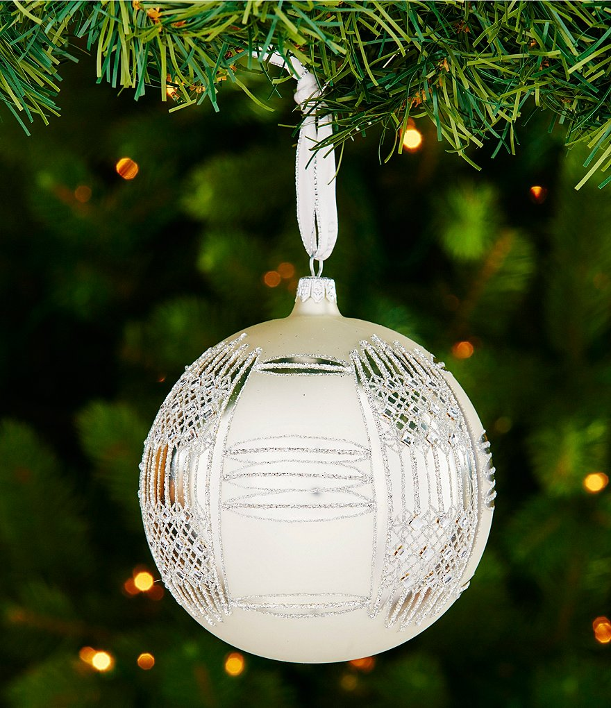 Waterford 2016 Opulence Collection Holiday Heirlooms Dungarvan Ball Ornament