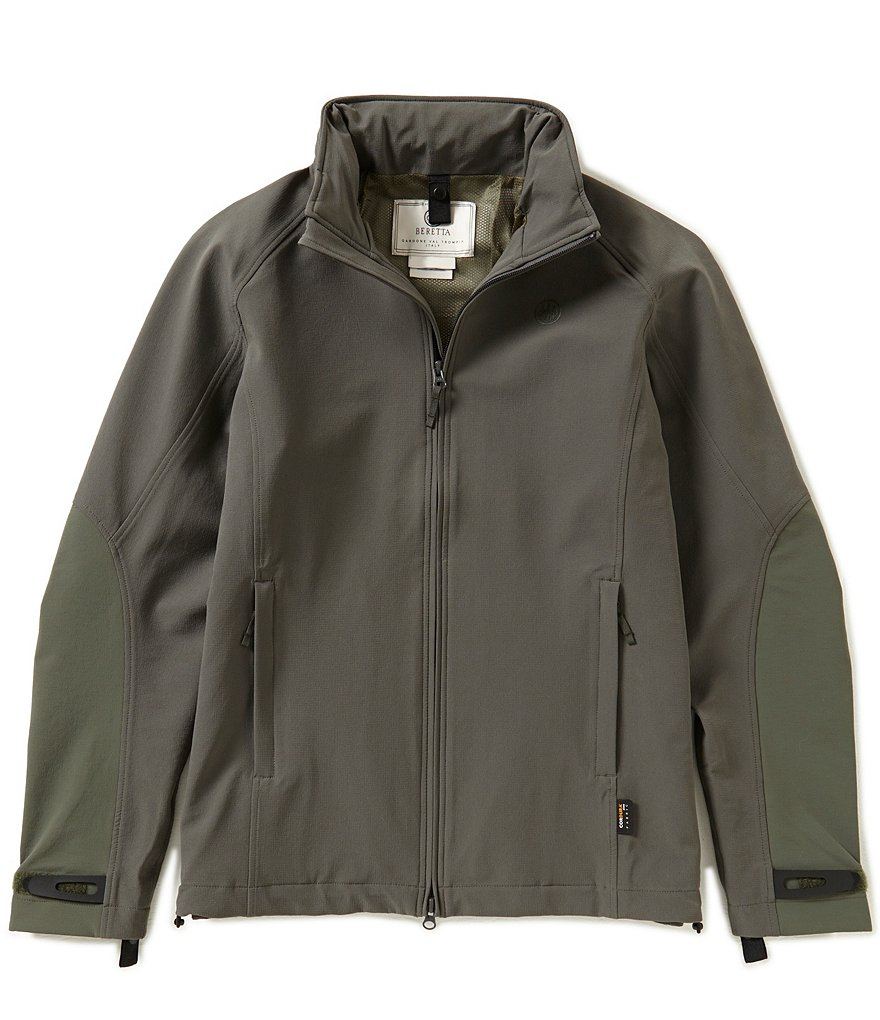 Beretta Active Shell Long Sleeve Mockneck Jacket
