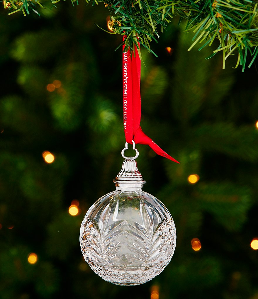 Waterford 2017 Times Square Crystal Ball Ornament