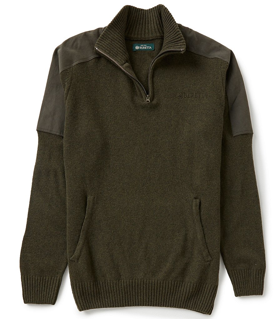 Beretta Classic Stretch Half-Zip Sweater