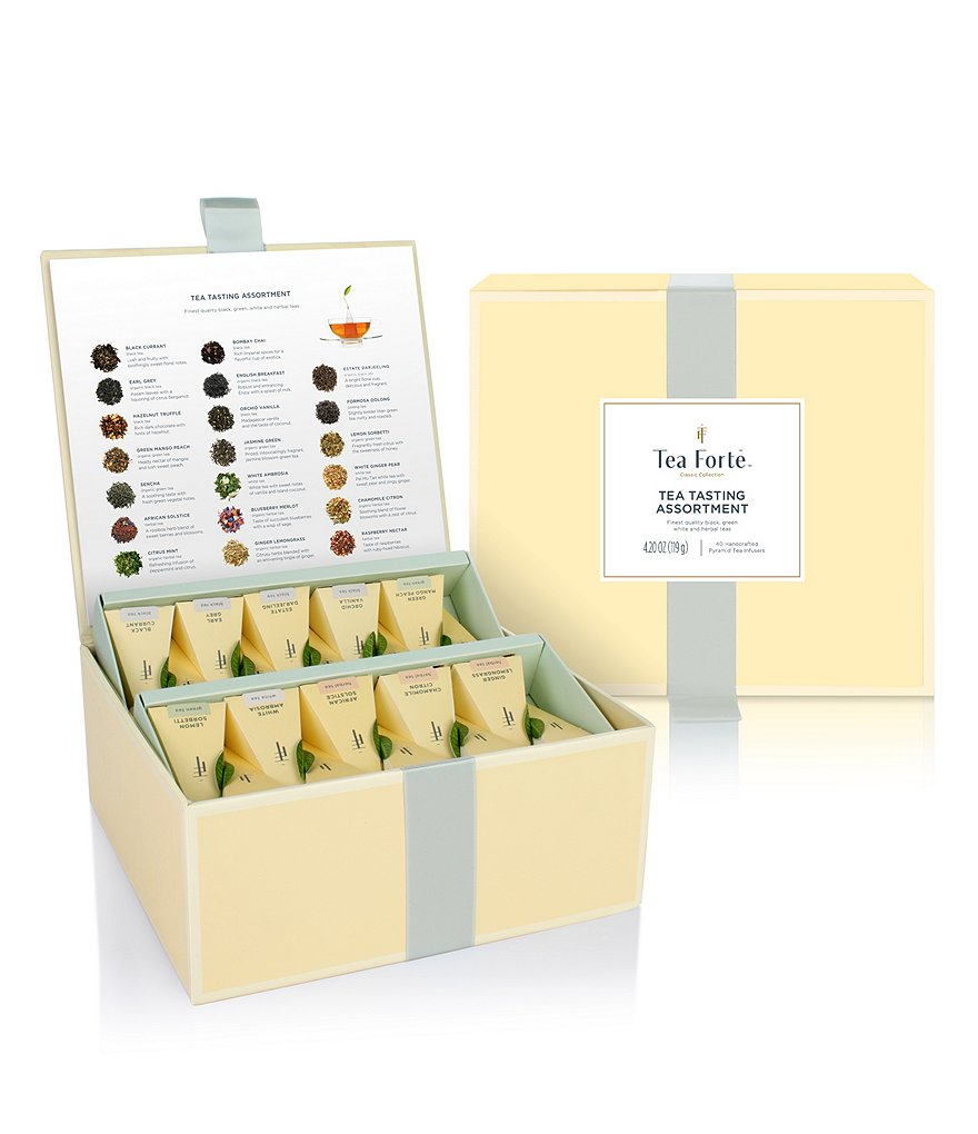 Tea Forte Classic Collection Tea Tasting Assortment Chest