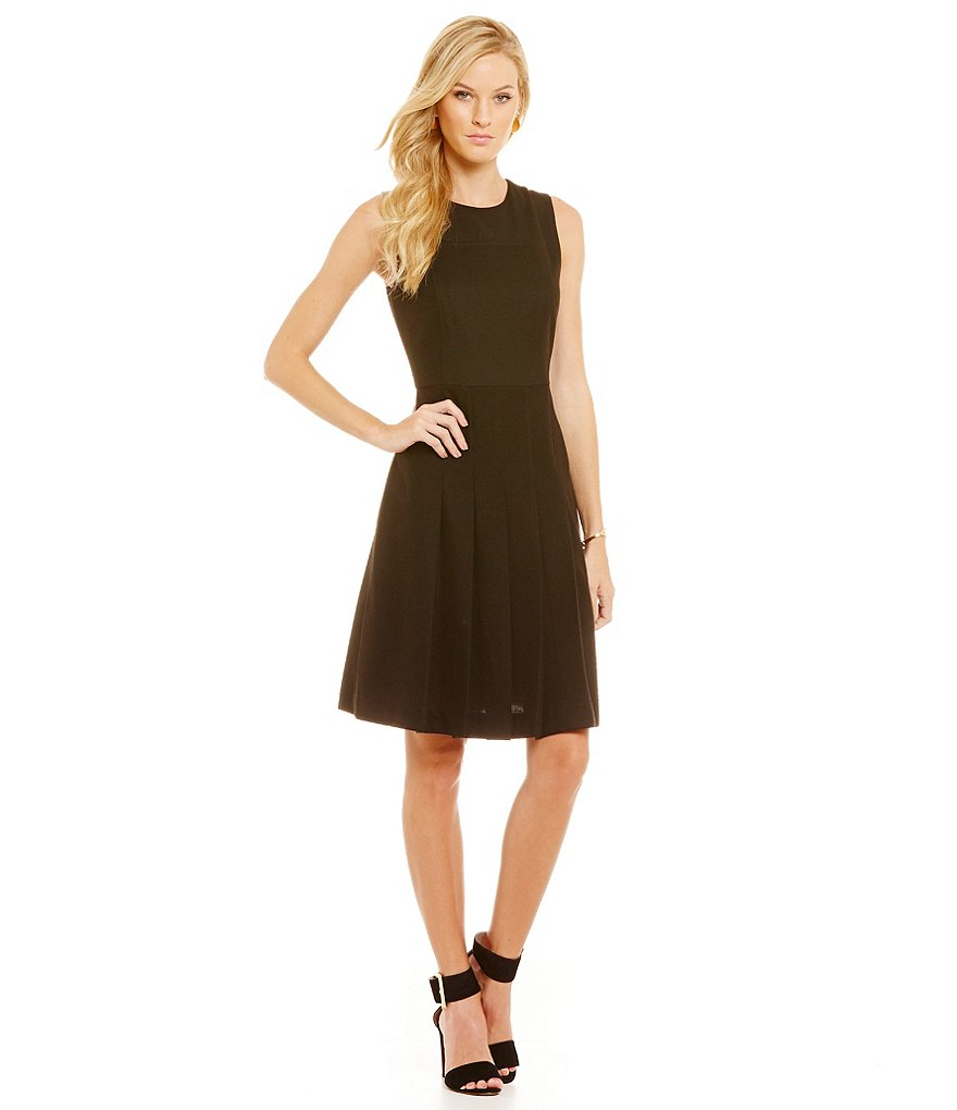 Cremieux Elizabeth Sleeveless Ponte Dress