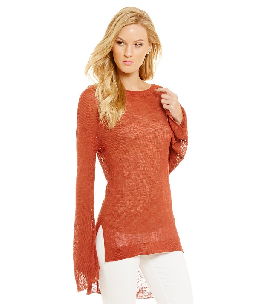 Cremieux Anisha Crew Neck Knit Top