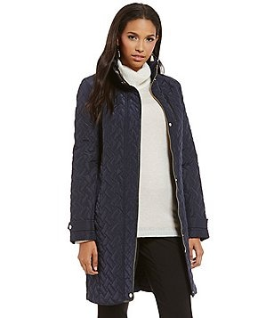 Cole Haan Signature Single Breasted Essential Quilted Jacket