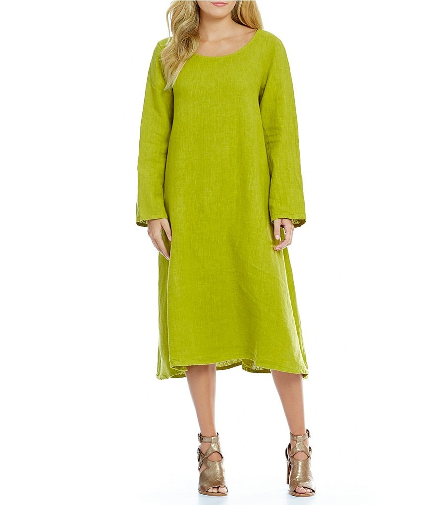 Bryn Walker Linus Long Sleeve Woven Dress
