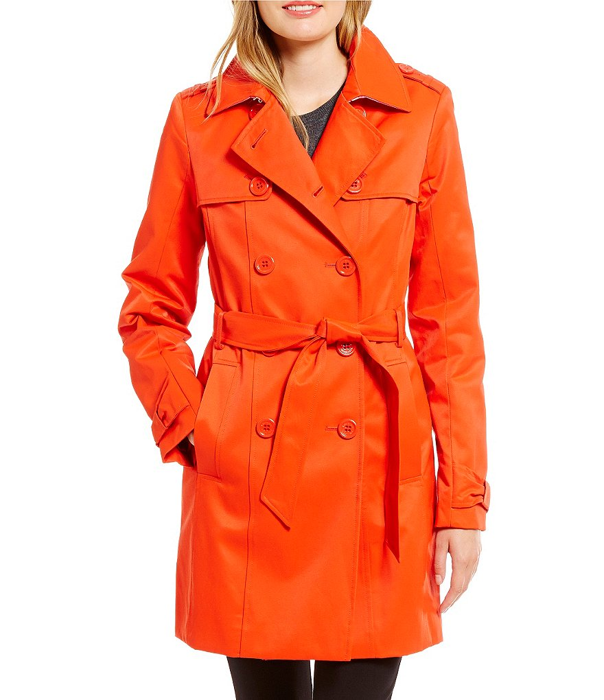 kate spade new york Classic Trench Rain Coat