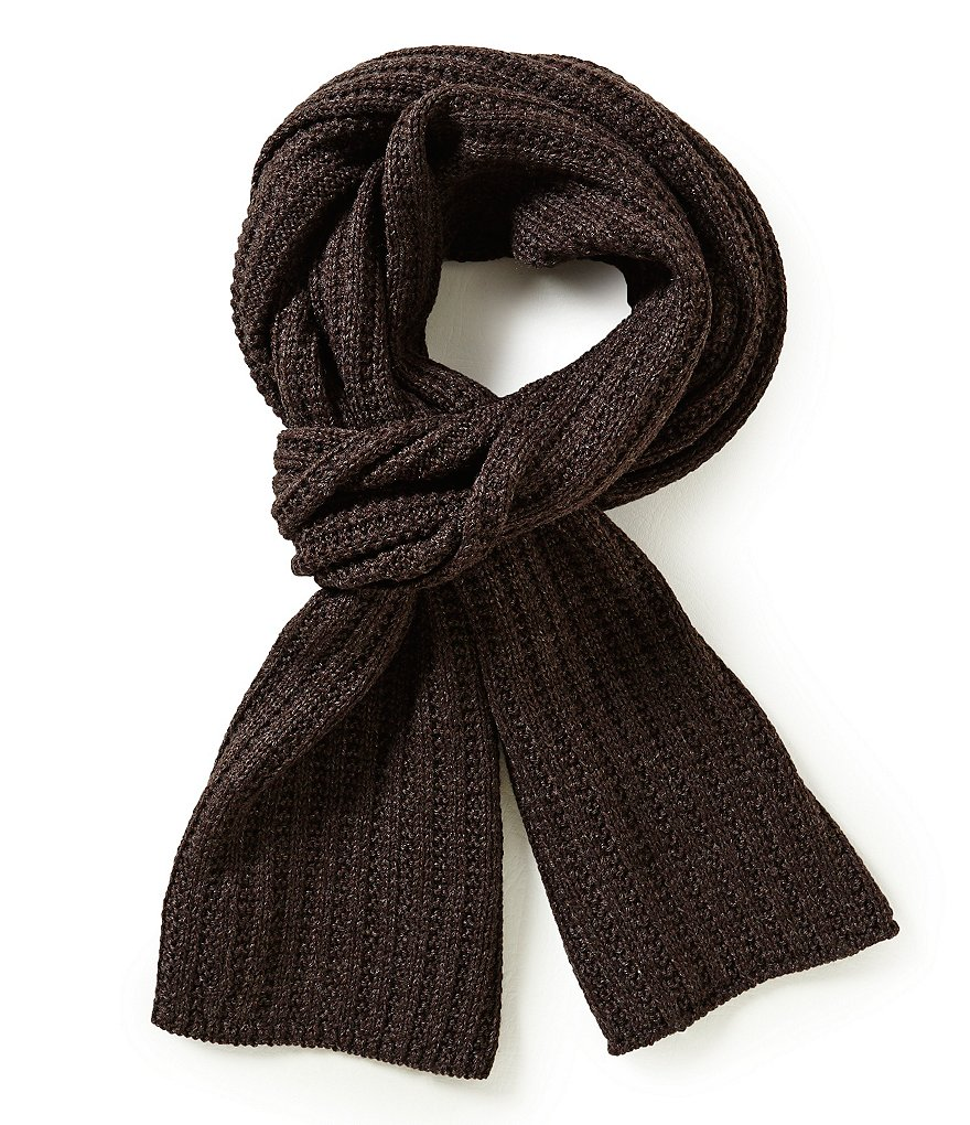 Roundtree & Yorke Ribbed Scarf