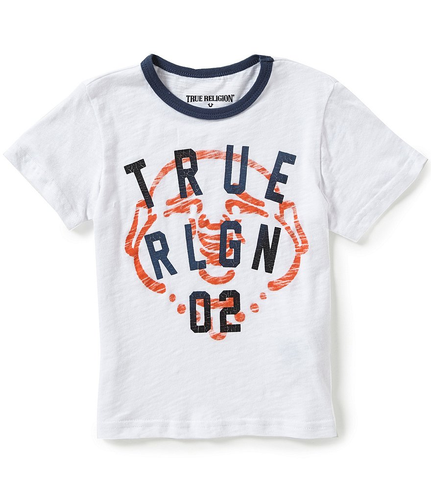 True Religion Little Boys 2T-7 True Buddha Graphic Tee
