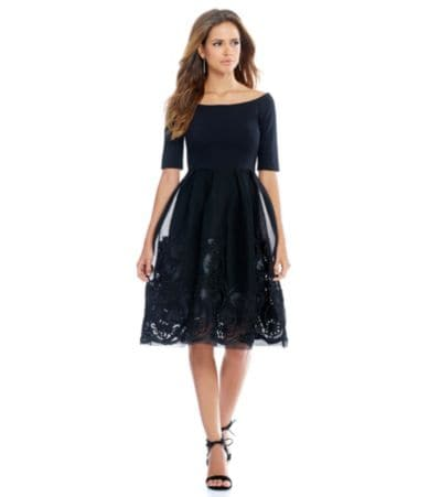 Wedding Cocktail Dresses With Sleeves womens clothing dresses cocktail 34 sleeve dillards com
