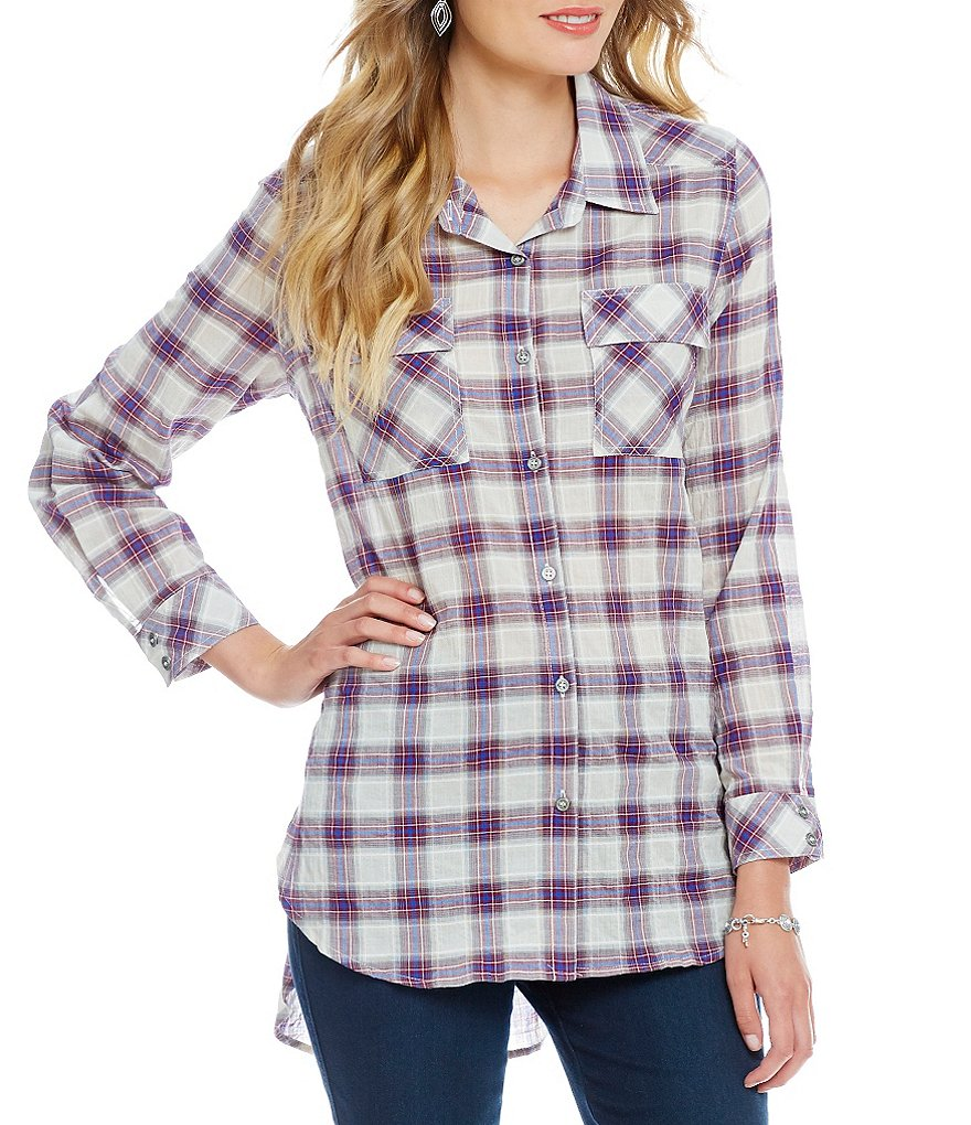 Gibson & Latimer Plaid Button Down