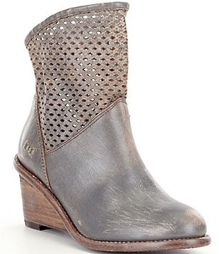 Bed Stu Dutchess Wedge Booties