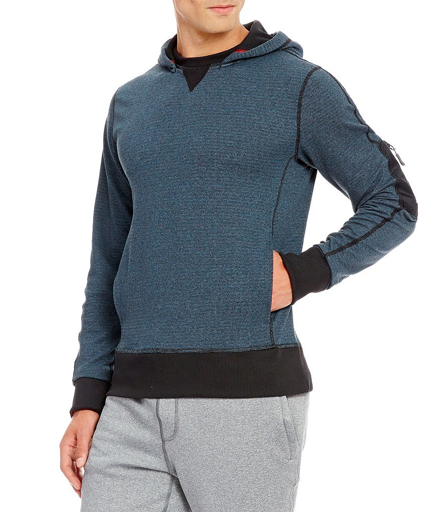 Cremieux Flex Hooded Pullover