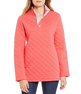 Lauren James Lawson Quilted Pullover Jacket