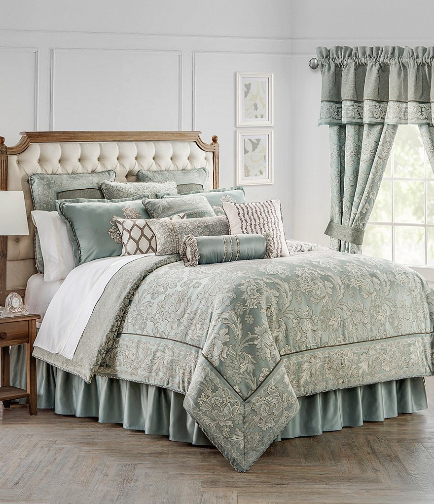 Waterford Mercer Jacobean Amp Scroll Comforter Set Dillards