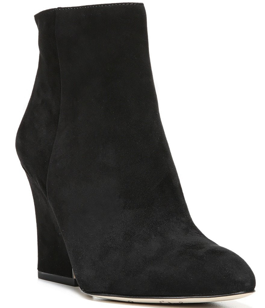 Sam Edelman Wilson Suede Wedge Booties