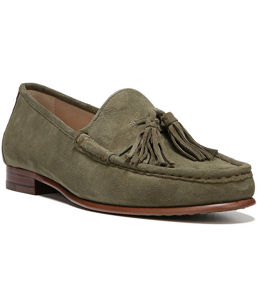 Sam Edelman Therese Suede and Tassel Loafers