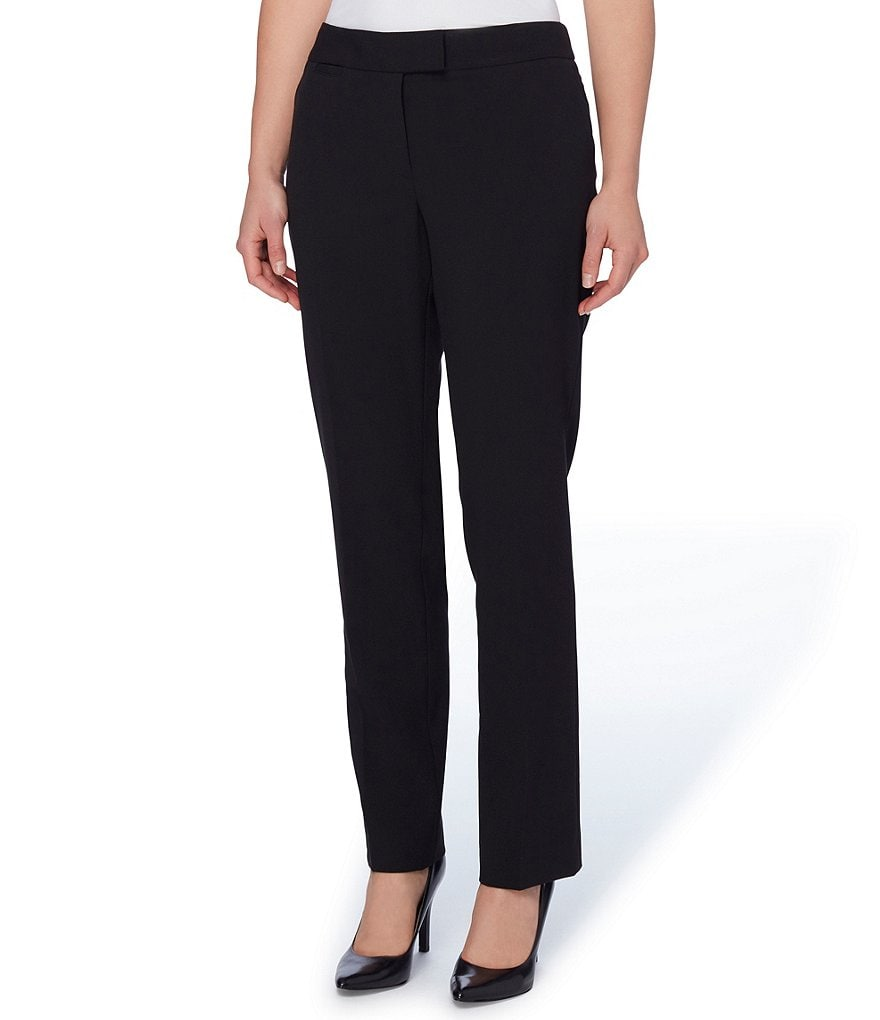 Tahari ASL Bi-Stretch Trouser Pants