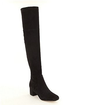 Sam Edelman Elina Over the Knee Block Heel Boots