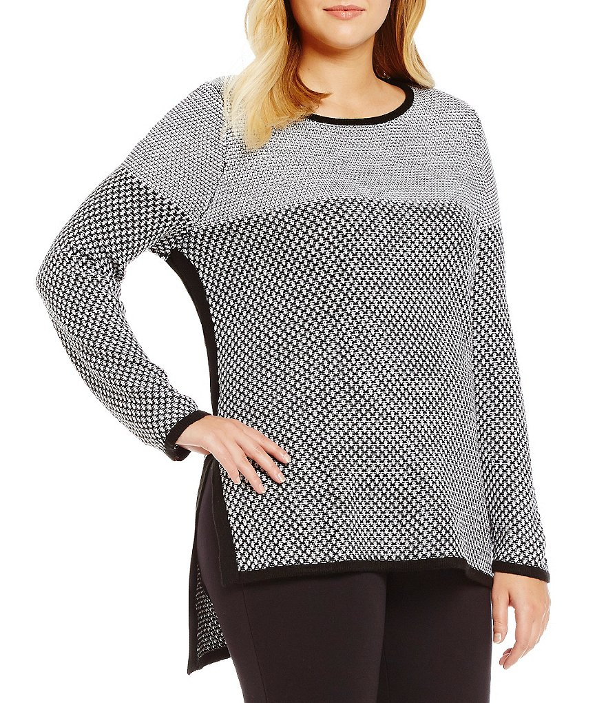 Westbound Plus Square Hem Sweater