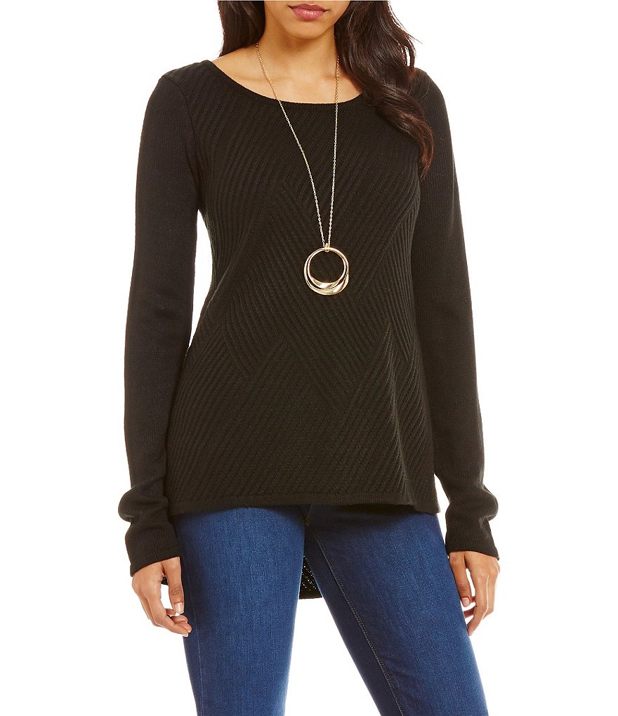 Westbound Square Hem Sweater