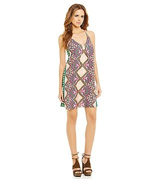 Gianni Bini Alyana Printed Shift Dress