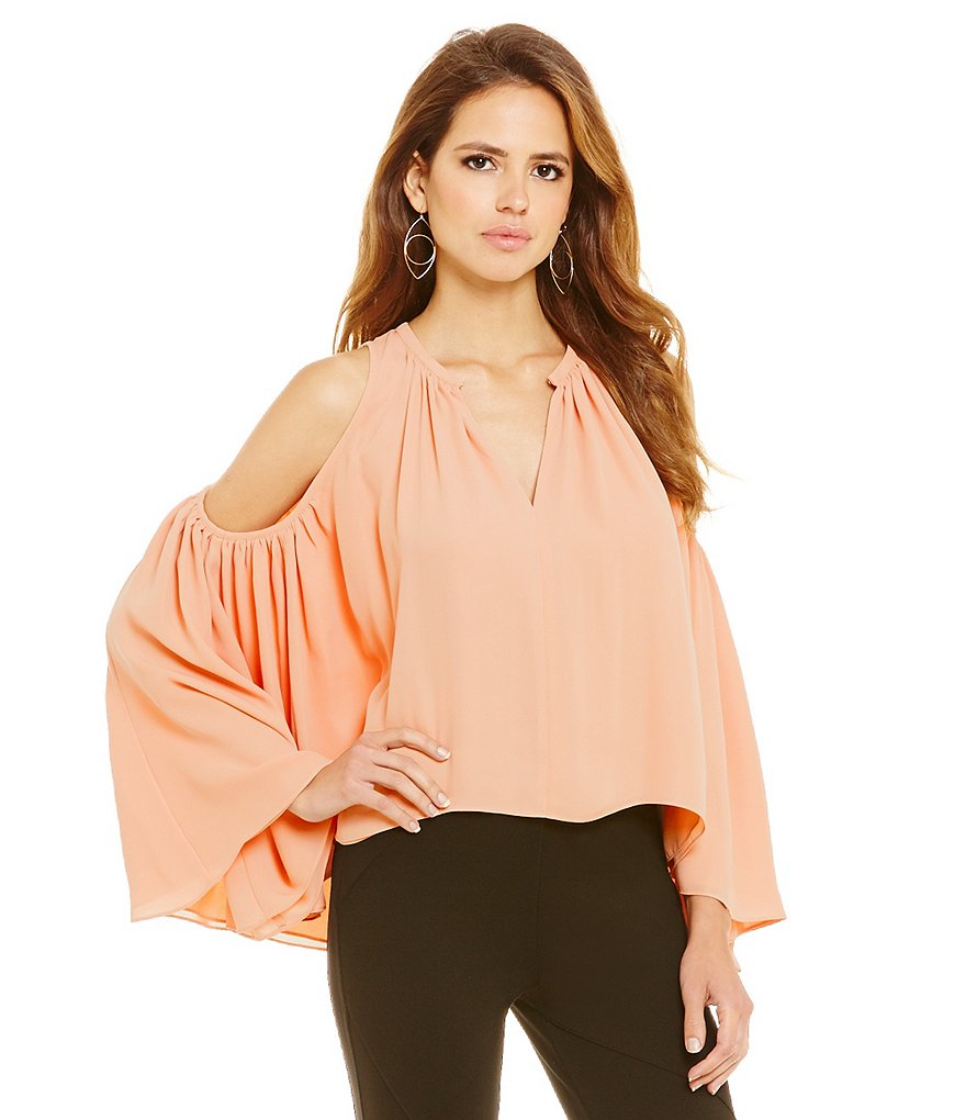 Gianni Bini Ruth Cold Shoulder Poncho